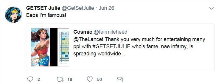 GETSET Julie illo