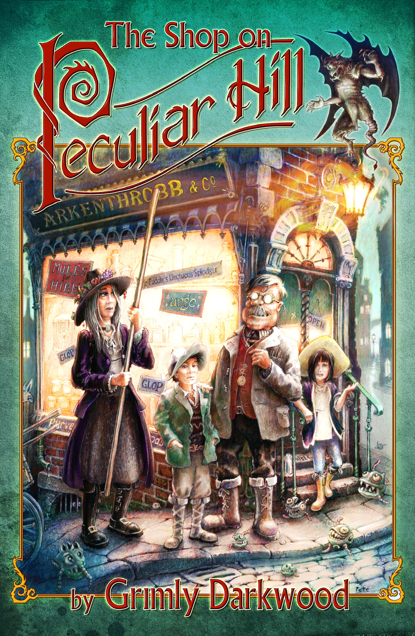 The Shop on Peculiar Hill Cover